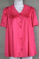Vintage Vanity Fair Women's Pink Nightgown Top Sleepwear Size Large 14-16