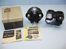 Vintage 1945 Sawyer VIEW-MASTER, Black Bakelite, Orig. Box, VGC + 1960's Viewer