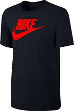 Nike Men's Active Sportswear T-Shirt Red  Logo