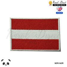 Österreich Nationalflagge Bestickt Zum Aufbügeln Aufnäher Abzeichen Kleidung Usw