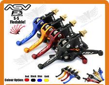 Alloy ASV F3 Series Short Clutch Brake Folding Levers Dirt Bike MX Free shipping
