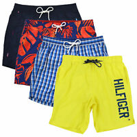 Tommy Hilfiger Mens Swim Trunks Bathing Suit Lined Shorts Summer Beach Pool New