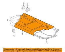 VW VOLKSWAGEN OEM 15-16 GTI Rear Seat-Cushion Cover 5GM885405LBBN