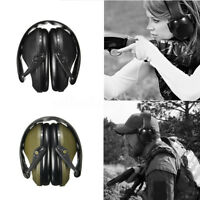 Anti-bruit Oreille Casque Manchon Cache-oreilles Pliable Protection Tir