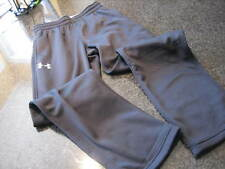 NWT - Mens UNDER ARMOUR Black Water Resistant Straight Fit Athletic Pants (S)