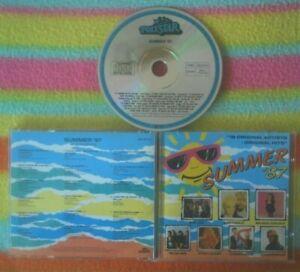SUMMER 87 CD~BELINDA CARLISLE/DRAGON/BILLY JOEL/EURYTHMICS/OINGO BOINGO/STACEY Q
