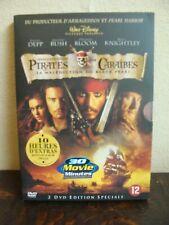 2 DVD - Pirates des Caraïbes - Edition Spéciale - 2004 - Français / Anglais