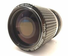 PENTAX Asahi 400-600mm Reflex Zoom f/8-12, For Pentax K-Mount, Mint!