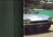 Jaguar XJS 1992-93 UK Market Sales Brochure Portfolio 4.0 6.0 Coupe Convertible