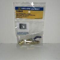 "Yellow Jacket 93843 1/4"" Compact Ball Valve - 45"
