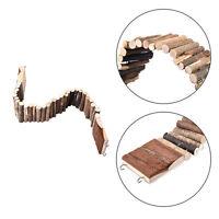 Flexible Wooden Rat Hamster Plank Ladder Bridge Hamsters Gerbils Parrot Bird Toy