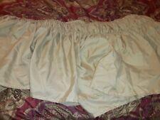 Beige/gold Bed Skirt Queen