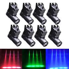 8PCS RGBW Pin Spot Bühnenlicht Stage Lighting DMX DJ Dis Bar Effect Party Light