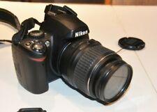 Nikon D D40 6.1MP Digital SLR Camera Black Kit w/ AF-S DX ED G 18-55mm Lens
