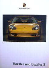 Porsche; Boxster and Boxster S, Sales Brochure.