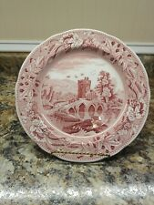 Spode Archive Collection Cranberry Lucan Dinner Plate