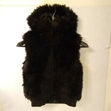 girls gymboree size M Faux Fur Hooded Vest