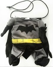 Pet Small Dog Cat Bat Costume Outfit Jumpsuit for Halloween Christmas