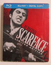 Brand New! Scarface Blu-ray/DVD (2011) 2-Disc Set Limited Edition Steelbook Case