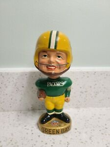 1965 Green Bay Packers Real Face Bobbing Bobble Head Nodder Restored To MINT!