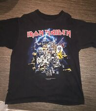 VINTAGE 1996 IRON MAIDEN Best of the Beast Camicia Taglia XL Rock Band TOUR scolorito