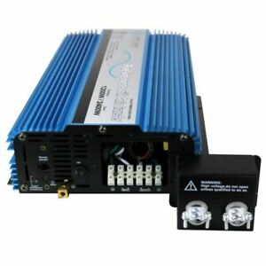 AIMS 1200 Pure Sine Inverter with Transfer Switch - ETL Certified Conforms to UL