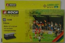 NOCH 14398 Football Spectator Stand (Laser Cut kit) 00/HO Gauge Model Railway