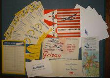Lot Aviation ancien Lockheed Constellation TWA Lufthansa Alitalia Dakar HP...