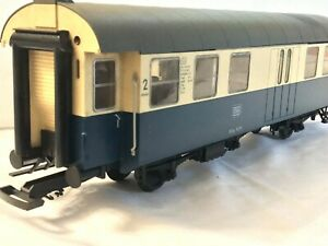 PIKO G Scale 3 Axle DB 2nd Class Passenger Coach 99371