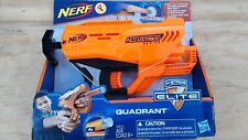 Hasbro   NERF QUADRANT   Ft Accustrike Darts For Greater Accuracy   New In Box!!