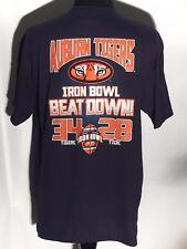 Auburn Tigers Iron Bowl Beat Down 34-28 NCAA SEC College Football Team XL Shirt