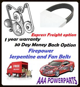 SERPENTINE BELT FOR FORD AU FALCON FAIRLANE FAIRMONT LTD 4.0L WITH VCT