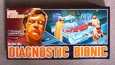 jeu du diagnostic bionic l'homme qui valait  milliards 1975 capiepa