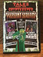 Tales From The Cryptkeeper Pleasant Screams S:1 (DVD 2007 2 Disc Set) Discs NM