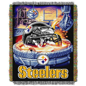 Pittsburgh Steelers Woven Tapestry Throw