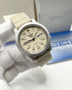 Seiko 5 Military Automatic Nylon Strap SNK803K2 Men's Watch *UK* Brand New