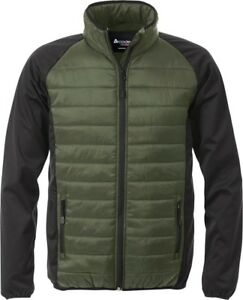 Acode By Fristads 117875 Padded Light quilted jacket with softshell.RRP £79.
