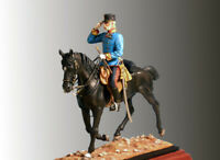 Franz Joseph 1 of Austria 54mm 1/32 Tin Painted Toy Soldier | Art Quality