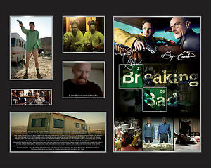 New Breaking Bad Signed Limited Edition Memorabilia Framed