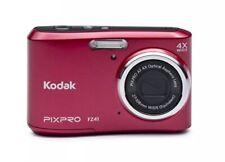 Kodak PIXPRO FZ41 16.2MP Digital Camera Red Lot With Tripod 16 GB Case and Cloth