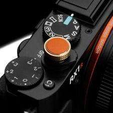 Gariz Soft Release Shutter Button Auslöser Auslöseknopf für Sony RX | Orange