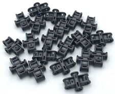 LEGO Lot of 12 Black 2x3 Classic Creator Basic Building Brick Parts and Pieces