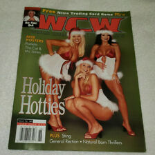 WCW Magazine (Issue 68) w/ STACY KEIBLER & TORRIE WILSON on the cover, nr-mt