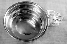 Web pattern 528 porringer mid-century in sterling silver NO mono