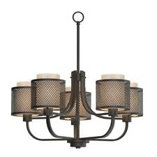 Home Decorators Summit 5-Light Bronze Mesh Chandelier