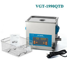 220V 9L Industrial Ultrasonic Cleaning Machine Hardware Jewelry Cleaner 200W