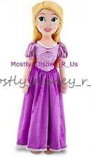 "NEW Disney Store Tangled Rapunzel 19"" Plush Toy Doll Princess Braid Blonde"