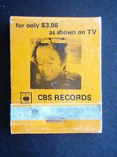 THE ANDY WILLIAMS ALBUM FOR ONLY $3.98 AS SHOWN ON TV CBS RECORDS MATCHBOOK