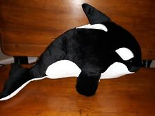 Scentsy Buddy Ory the Orca whale Black White.  Smoke free Home, New, wo box