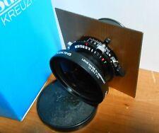Schneider Kreuznach Lens Super Angulon 8/90 Multicoating w/ Copal No. 0 - MIB